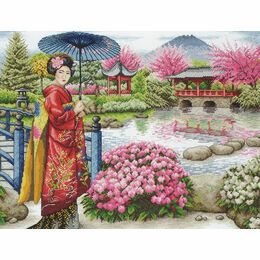 The Japanese Garden Cross Stitch Kit