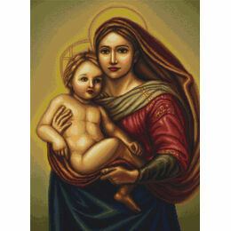 Sistine Madonna Cross Stitch Kit