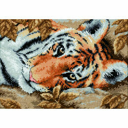 Beguiling Tiger Cross Stitch Kit