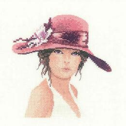 Sally Miniature Portrait Cross Stitch Kit