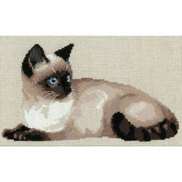 Thai Cat Cross Stitch Kit