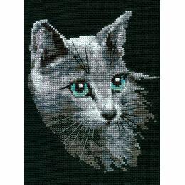 Russian Blue Cross Stitch Kit