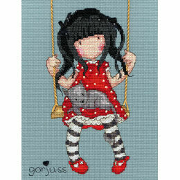 Gorjuss Ruby Cross Stitch Kit