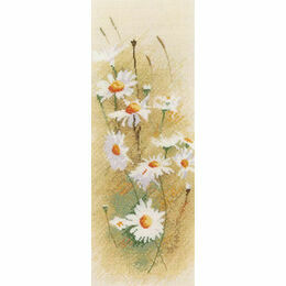 Daisy Panel Cross Stitch Kit