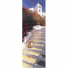 Greek Steps Cross Stitch Kit