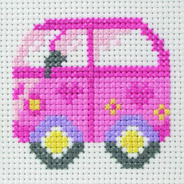Camper Van Cross Stitch Kit
