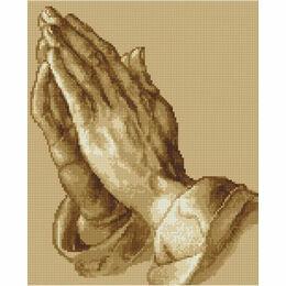 Praying Hands Cross Stitch Kit