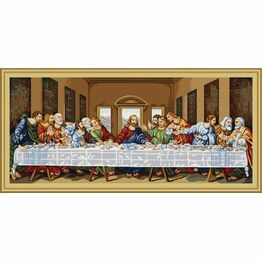 The Last Supper Cross Stitch Kit