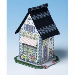 The Flower Shop 3D Cross Stitch Kit