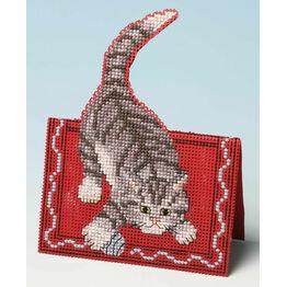 Making Mischief Card 3D Cross Stitch Kit
