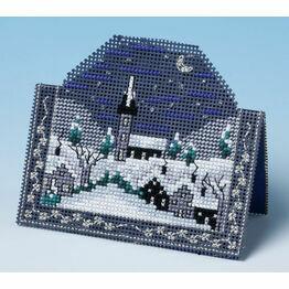 Starry Night Card 3D Cross Stitch Kit