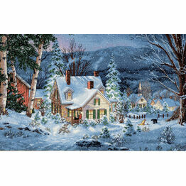 Winter's Hush Cross Stitch Kit