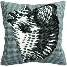 Conche Shell Cushion Panel Cross Stitch Kit