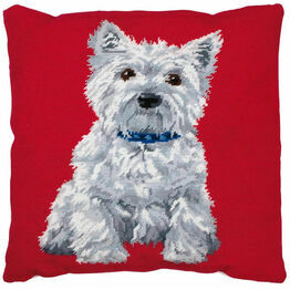 Westie Cushion Front Tapestry Kit