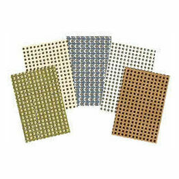 Mill Hill 14 Count Perforated Paper - Mixed Pack Of 10 Sheets