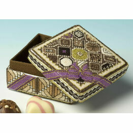 Chocolate Box 3D Cross Stitch Kit