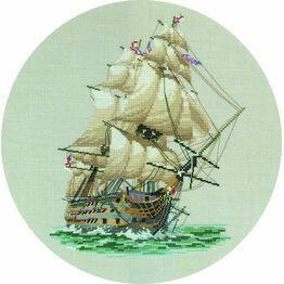 HMS Victory Cross Stitch Kit