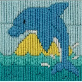 Dolphin Long Stitch Kit