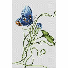Emotion Butterfly Cross Stitch Kit