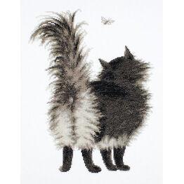 Shu Shun Cat Cross Stitch Kit