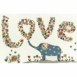 Love Elly Cross Stitch Kit