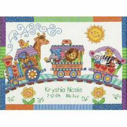 Baby Express Cross Stitch Birth Record Kit