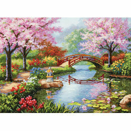 Japanese Garden Cross Stitch Kit