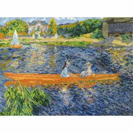 Renoir - The Skiff Cross Stitch Kit