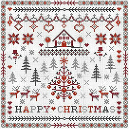 Happy Christmas Cross Stitch Kit