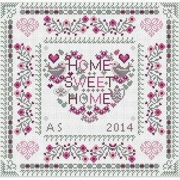 Home Sweet Heart Home Cross Stitch Kit