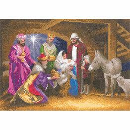 Nativity Cross Stitch Kit (By John Clayton)