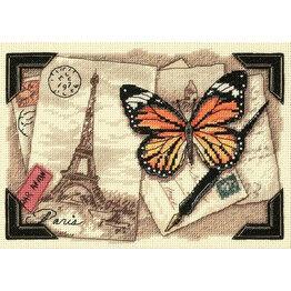 Travel Memories Cross Stitch Kit