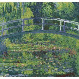 Monet - The Water-Lily Pond Cross Stitch Kit