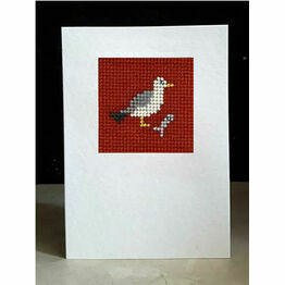 Chips The Seagull Mini Beadwork Embroidery Card Kit