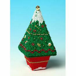 Snow Tree 3D Cross Stitch Kit