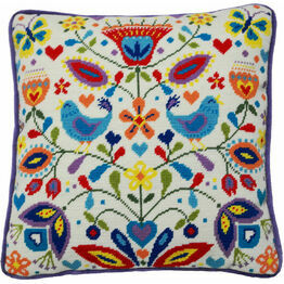 Summer Melody Tapestry Cushion Front Kit
