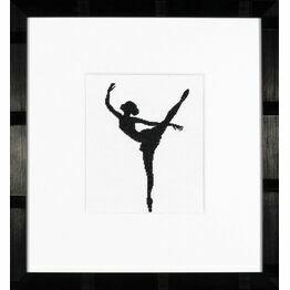Ballet Silhouette 2 Cross Stitch Kit
