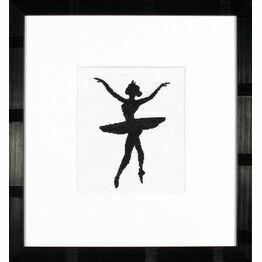Ballet Silhouette 3 Cross Stitch Kit