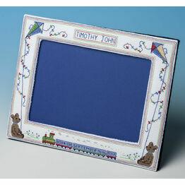 Baby Boy Frame Cross Stitch Kit