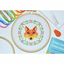 Beginners Fox - Learn How To Cross Stitch Complete Tutorial Kit