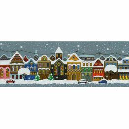 Christmas City Cross Stitch Kit