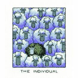 'The Individual' Sheep Cross Stitch Kit