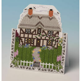 Cottage Card 3D Cross Stitch Kit