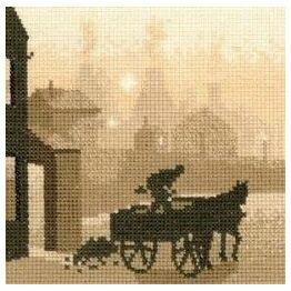 The Coalman Cross Stitch Kit