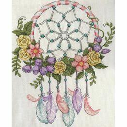 Pastel Dreamcatcher Cross Stitch Kit