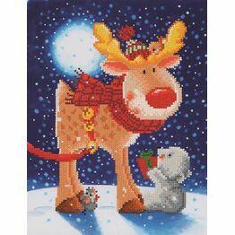 Reindeer Gift Diamond Dotz Kit