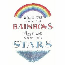 Look For Rainbows Cross Stitch Kit