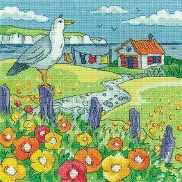 Poppy Shore Cross Stitch Kit