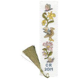 Daffodil And Honeysuckle Bookmark Cross Stitch Kit