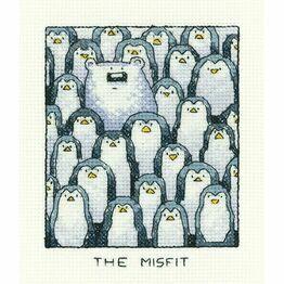 The Misfit Cross Stitch Kit